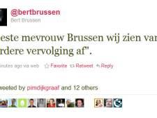 Blogger Bert Brussen niet vervolgd voor bedreiging Wilders