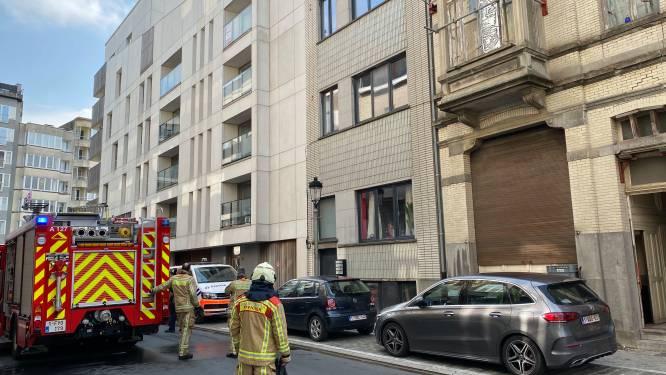 Brand in leegstaande woning snel onder controle
