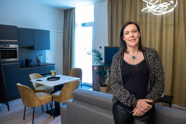 """""""Wij starten volgende week met het verhuren van kamers voor de Ronde 2020"""", zegt Ellen Brouwers, woordvoerder van het Leopoldhotel in Oudenaarde"""