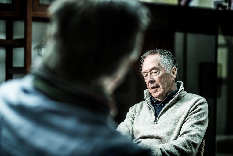 Luc Huyse, socioloog en doorgewinterde Wetstraat-watcher. Beeld Franky Verdickt