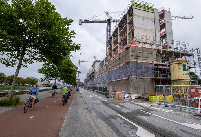 Het studentencomplex van Woongoed aan de Kanaalweg in Middelburg.