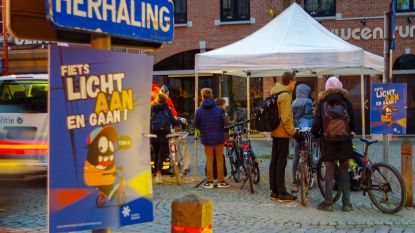 39 fietsers niet in orde met verlichting