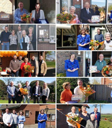 Burgemeester Tubbergen reikt negen koninklijke onderscheidingen uit aan plaatsgenoten