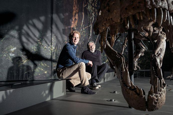 Maarten van Rossem en Gijs Rademaker in Naturalis