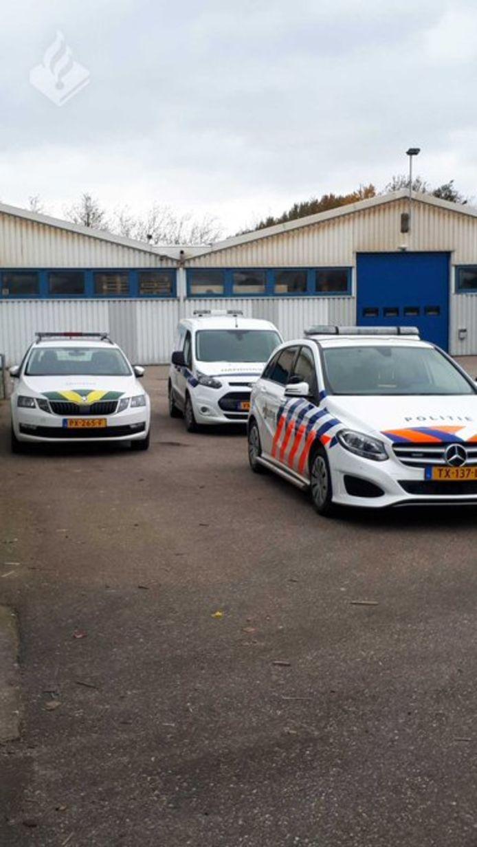 30 pallets illegale sigaretten aangetroffen in Klundert.