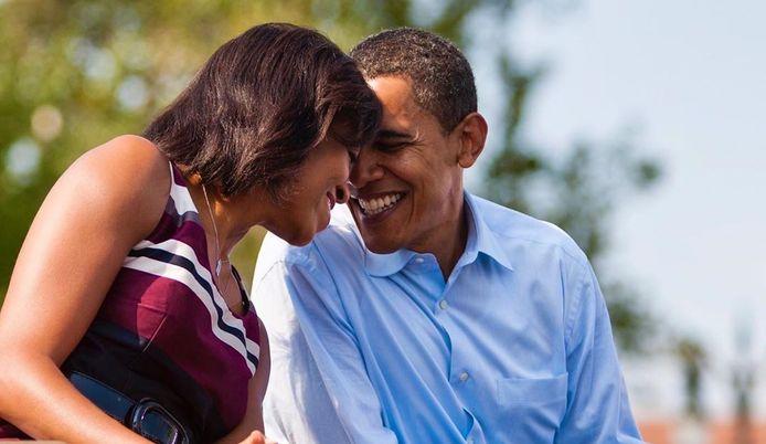 Michelle et Barack Obama.