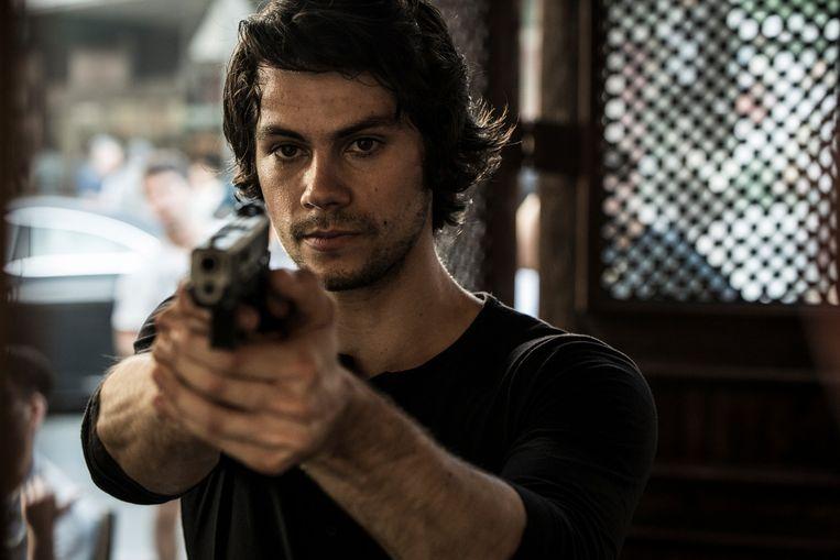 Dylan O'Brien in American Assassin. Beeld
