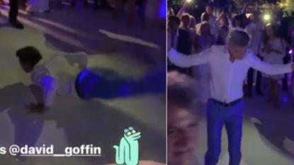 Ook Goffin gaat soms eens volledig los: Belgische nummer één showt dansmoves
