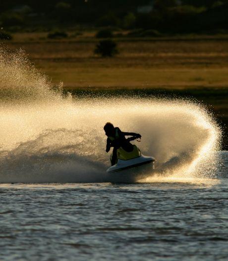 Geen jetski's meer in De Zandmeren en bij Resort aan de Maas; met strengere regels kunnen boa's optreden
