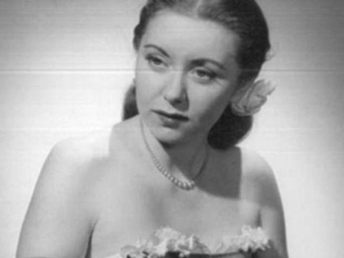 Rebecca Zeni, op jonge leeftijd.