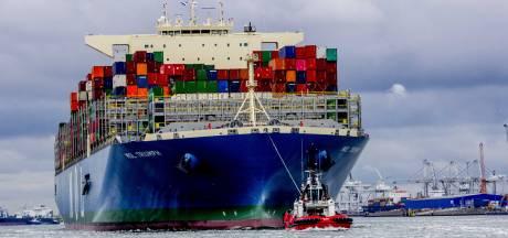 Rotterdamse haven groeit een heel klein beetje