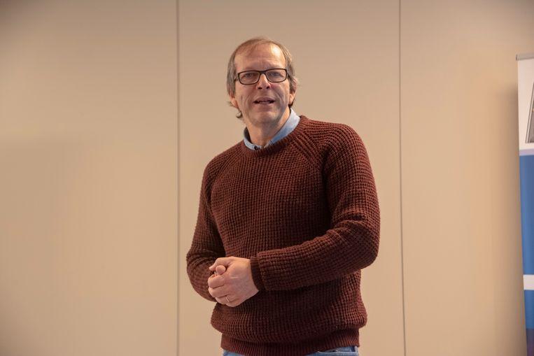 Vincent Leus, vader van de verongelukte Emilie Leus en oprichter van het gelijknamige Fonds Emilie Leus. Beeld Didier Verbaere