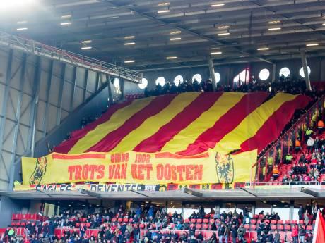 Grote schare Deventer fans mee naar bekerduel tegen FC Twente