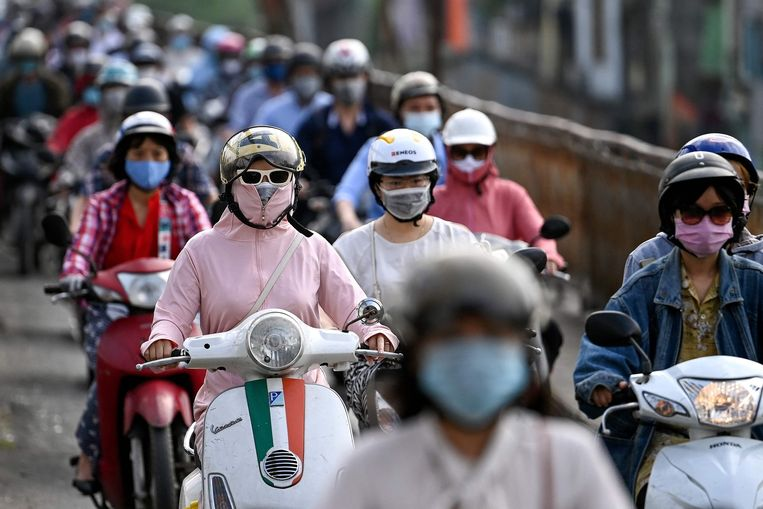 Vietnam heeft internationaal veel lof gekregen voor zijn aanpak van de pandemie. Beeld AFP