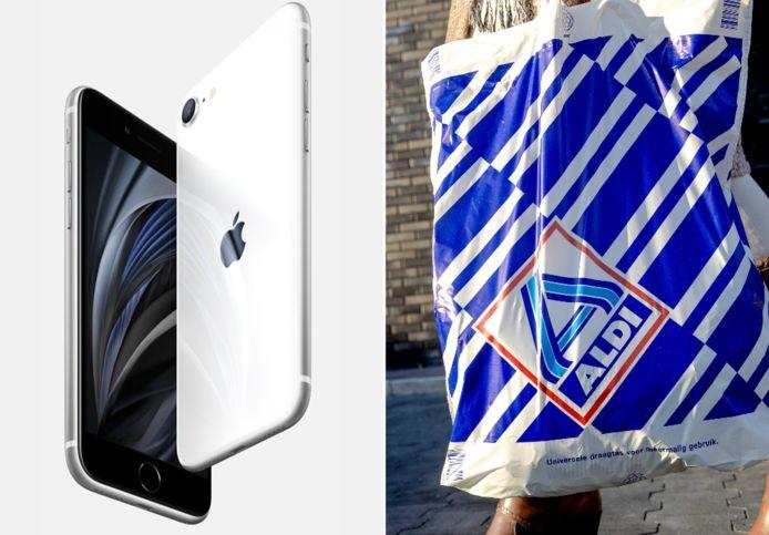 Aldi gaat Apple-smartphones verkopen.