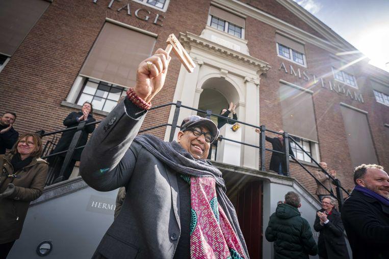 Museum De Hermitage Amsterdam vraagt het publiek om financiële steun tijdens de wervingscampagne Houd de Hermitage open.  Beeld ANP