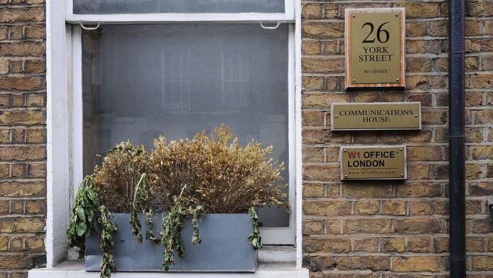 """La """"Communications House"""" à Londres, abritant l'un des bureaux de Spamhaus."""