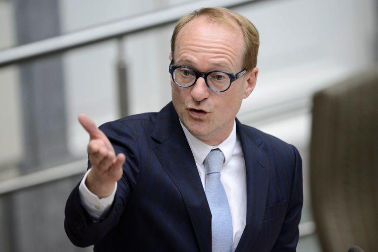 Vlaams minister van Onderwijs Ben Weyts (N-VA). Beeld Photo News