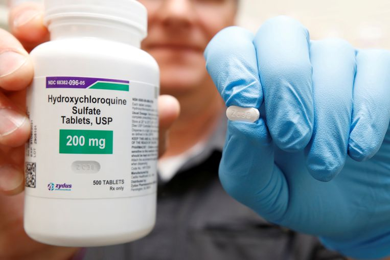 Hydroxychloroquine Beeld REUTERS