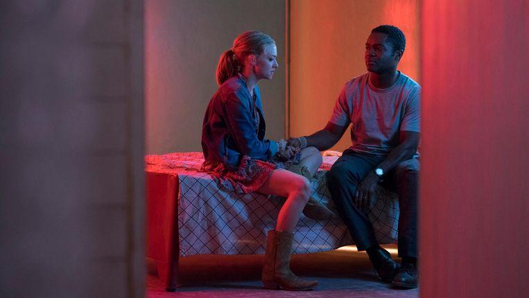 Amanda Seyfried en David Oyelowo in The Gringo. Beeld -