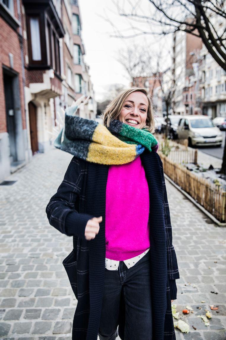 Sofie Lemaire: 'Historici geven vandaag toe dat de vrouwengeschiedenis onvoldoende geschreven is geweest.' Beeld Aurélie Geurts