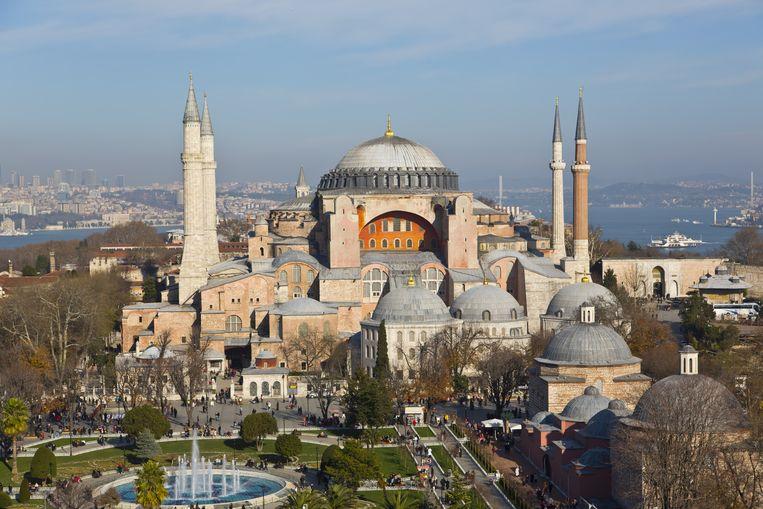 De Hagia Sophia. Beeld Shutterstock
