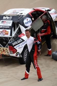 Ten Brinke moet strijd staken in Dakar Rally met kapotte auto