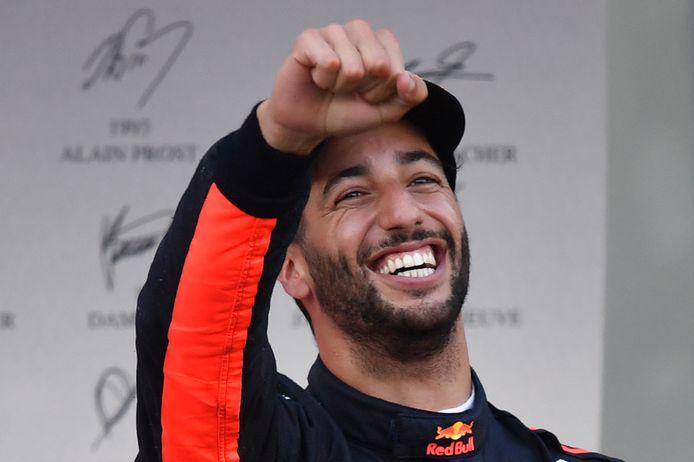 Daniel Ricciardo won de Grote Prijs van Azerbeidzjan.