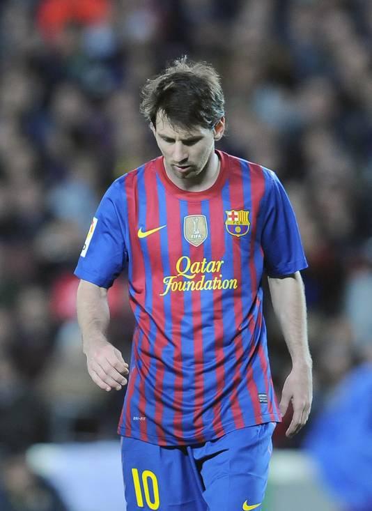 """Voilà déjà quatre """"Clasicos"""" sans que Lionel Messi puisse trouver le chemin des filets."""
