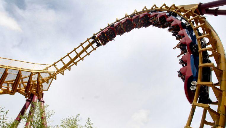 De roetsjbaan Cobra in Walibi.