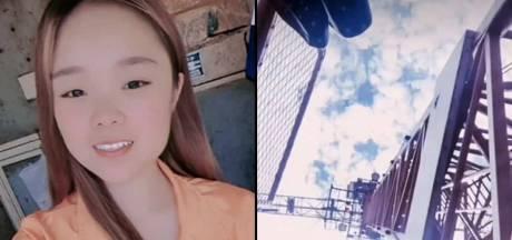 Une star de TikTok meurt en direct après une chute de 43 mètres