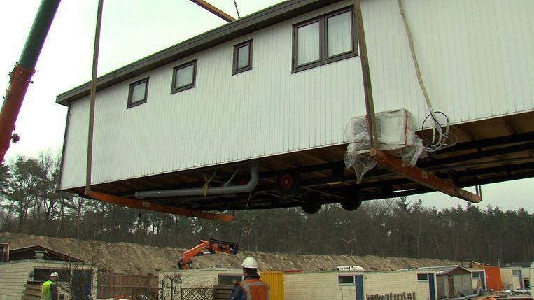 Frans en Silvia Bromet volgen de verbouwing van woonwagenkamp Beukbergen. Beeld KRO-NCRV
