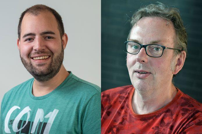 Wilco Louwes en Dick Janssen, voor Het Debat