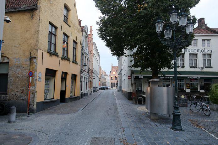 Het Kraanplein in Brugge.