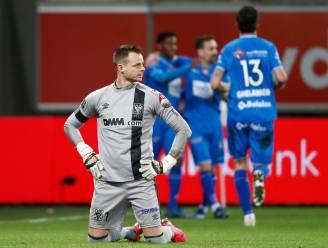 """STVV-doelman Kenny Steppe baalt: """"Frustrerend, die vier goals"""""""