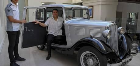 La première voiture du prince Philip précieusement conservée... au Sri Lanka