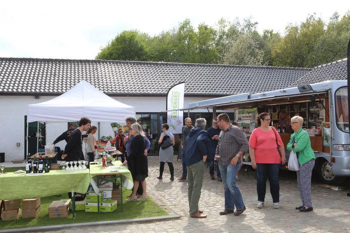 Een vorige editie van de Vinne markt.