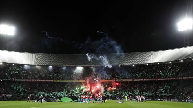 UEFA geeft Feyenoord opnieuw boete, totaal loopt op tot 124.125 euro