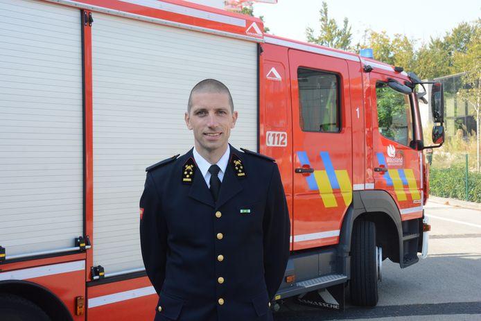 Zonecommandant Thierry Van Goethem
