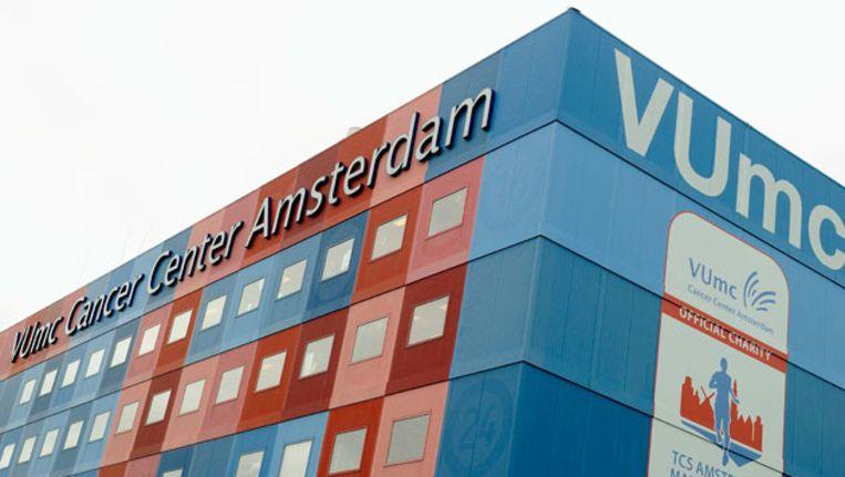 Exterieur van het Amsterdamse ziekenhuis VUmc. Beeld anp