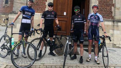 """Defour voegt de daad bij het woord en test de Vlaamse wielerhellingen: """"Enorm veel respect voor coureurs"""""""