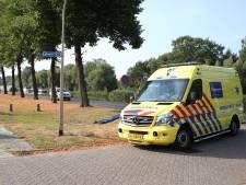 Aadorpse bewusteloos door vallende lading vrachtwagen