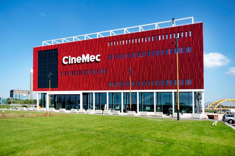 De nieuwe bioscoop en congreslocatie CineMec in de wijk Leidsche Rijn. Beeld ANP