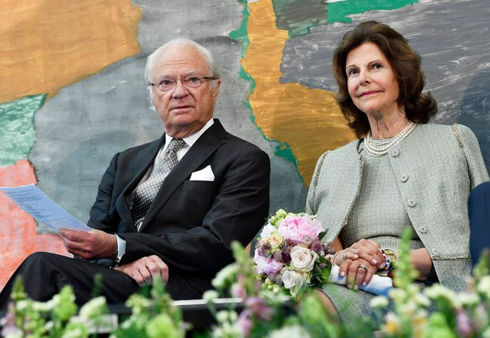 Koning Carl Gustaaf en koningin Silvia.