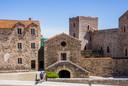 Binnenplein van het Koninklijk kasteel.