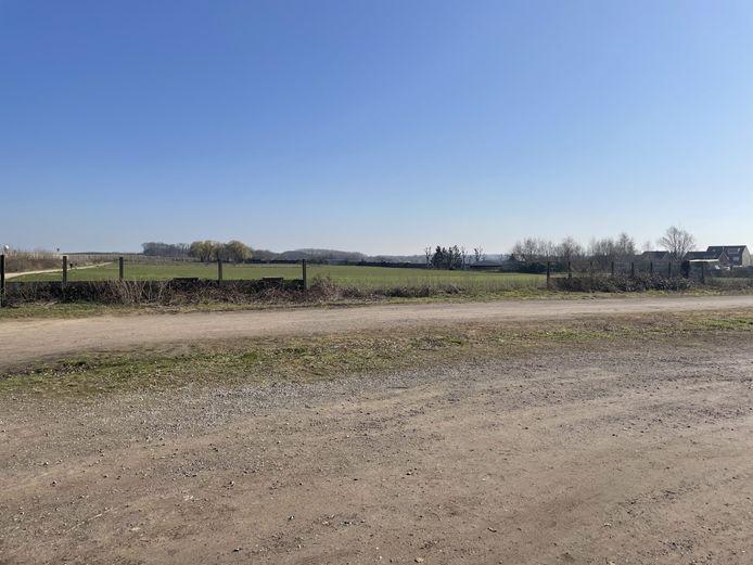 Op dit terrein komt in de toekomst het sportcomplex van de gemeente Zaventem.