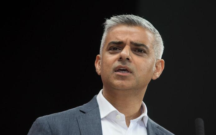 Burgemeester van Londen Sadiq Khan.
