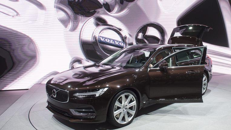 Archiefbeeld: de Volvo S90. Beeld epa