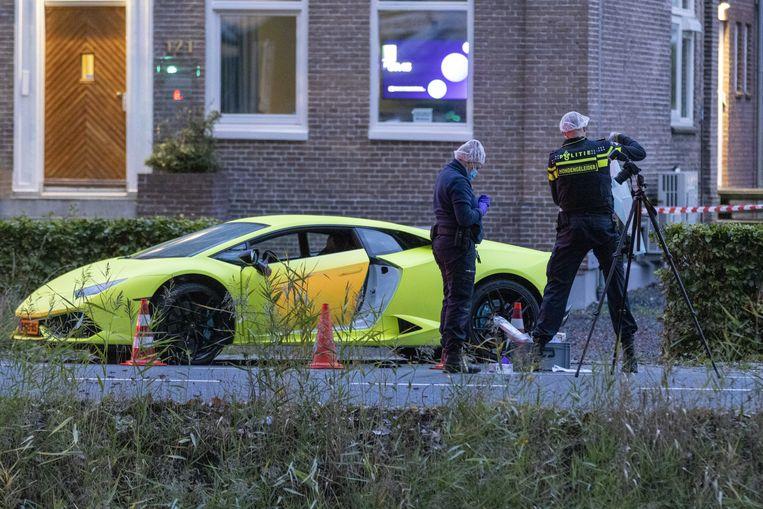 Volgens zijn advocaat is de auto van het vermeende slachtoffer 'aan zijn werk gerelateerd'. Beeld Michel van Bergen/ANP