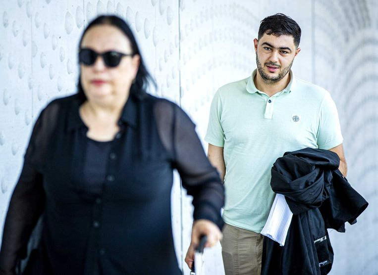 Advocaten Inez Weski en Yassine Bouchikhi.  Beeld ANP